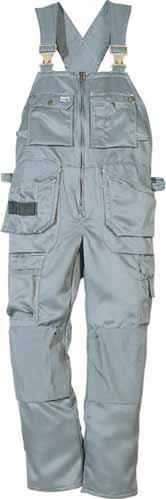 pockets and tool loops / Two roomy front and back pockets / Folding-rule pocket / Leg pocket with