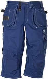 reinforced with 100% Cordura, extra pocket, three small pockets and tool loops / Leg