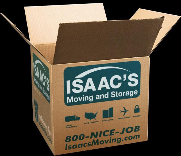 The Isaac s Packing Guide The process of moving house can seem a rather daunting task, but with a little planning and Isaac s trusty movers on your side it can all run remarkably smoothly.