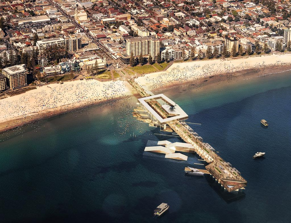 REINVIGORATING GLENELG The State Liberals Plan If elected in 2018 a Marshall Liberal Government will invest $20 million towards the redevelopment of the Glenelg Jetty to reinvigorate the precinct.