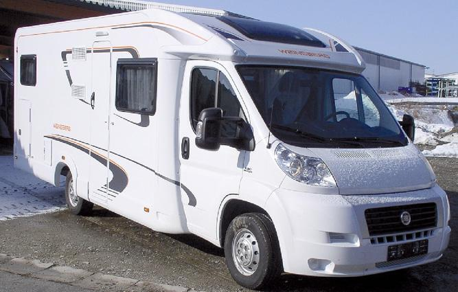 And here the facts: What is NEW in 2012/2013? Motorhomes AL and TI: 1. Complete exterior re-styling for semi-integrated and alcove models!
