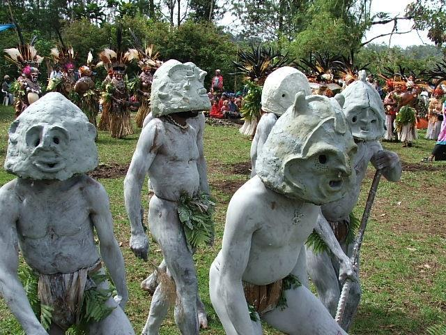 Since colonial days the people of the Eastern Highlands have come together once a year to display samples of their best crops and livestock, and to show off their most colourful and energetic dance