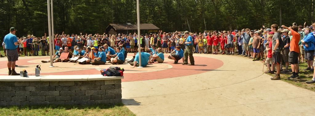 SELL THE ADVENTURE Ask your Scouts to share a personal testimony of a Summer Camp Adventure,