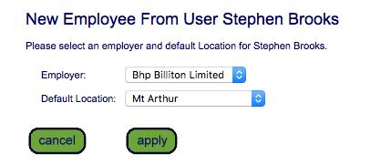 Step 4 From the dropdown fields, select the employee