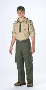 AT CAMP UNIFORMS The official uniform of the Loud Thunder Scout Reservation is the Field Uniform of the BSA ( Class A ), and we ask that you wear it on appropriate occasions.