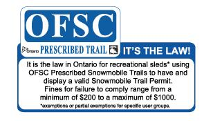 5 If you see anyone on our trails without a permit please get as much information as you can about the sled and owner and report it to a member of the Board of Directors.
