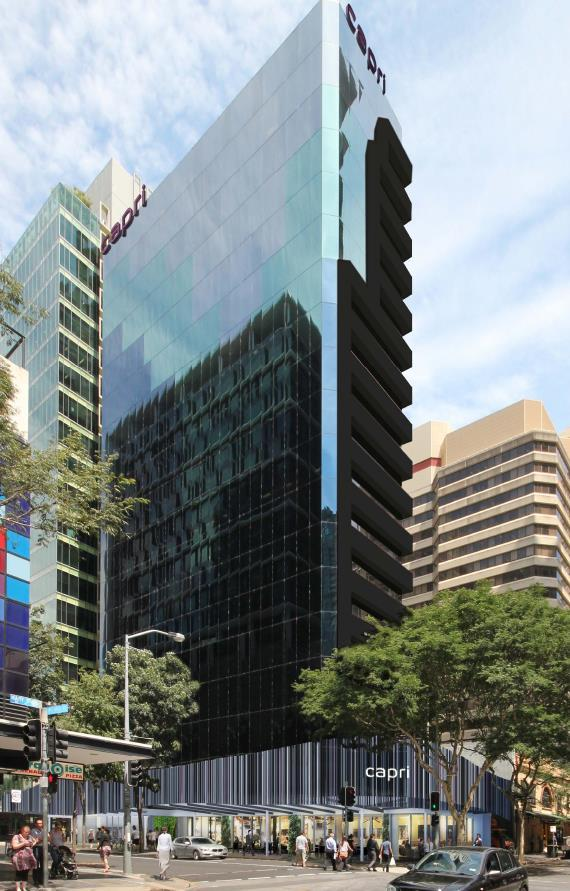 FRASERS HOSPITALITY Frasers Hospitality, Singaporean hotel owner-operator acquired 80 Albert Street Sought to convert office to 240-key hotel At the time, the City Plan