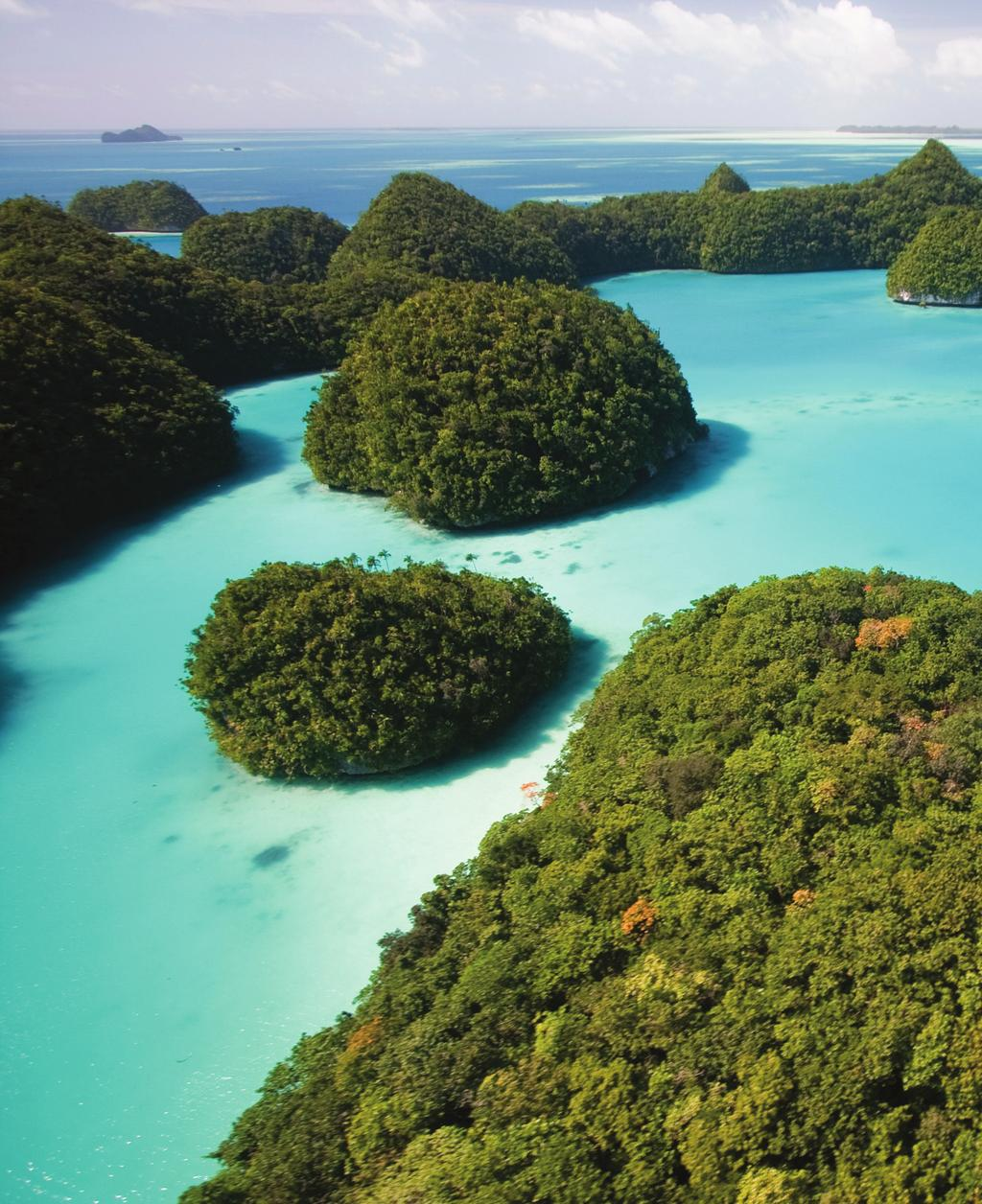 Palau, an archipelago made up of more than 250 islands in the western