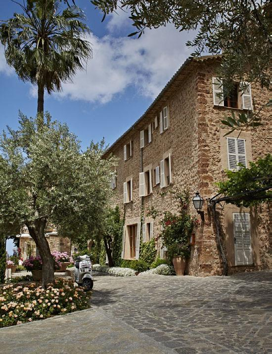 A VIBRANT HIDEAWAY IN THE MOUNTAINS OF MALLORCA OUR OASIS OF TRANQUILLITY IS A