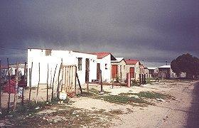 Gugulethu township, Cape Town.
