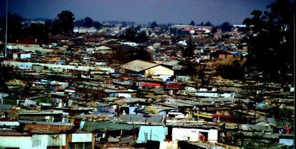 Soweto (South West Township), Johannesburg.