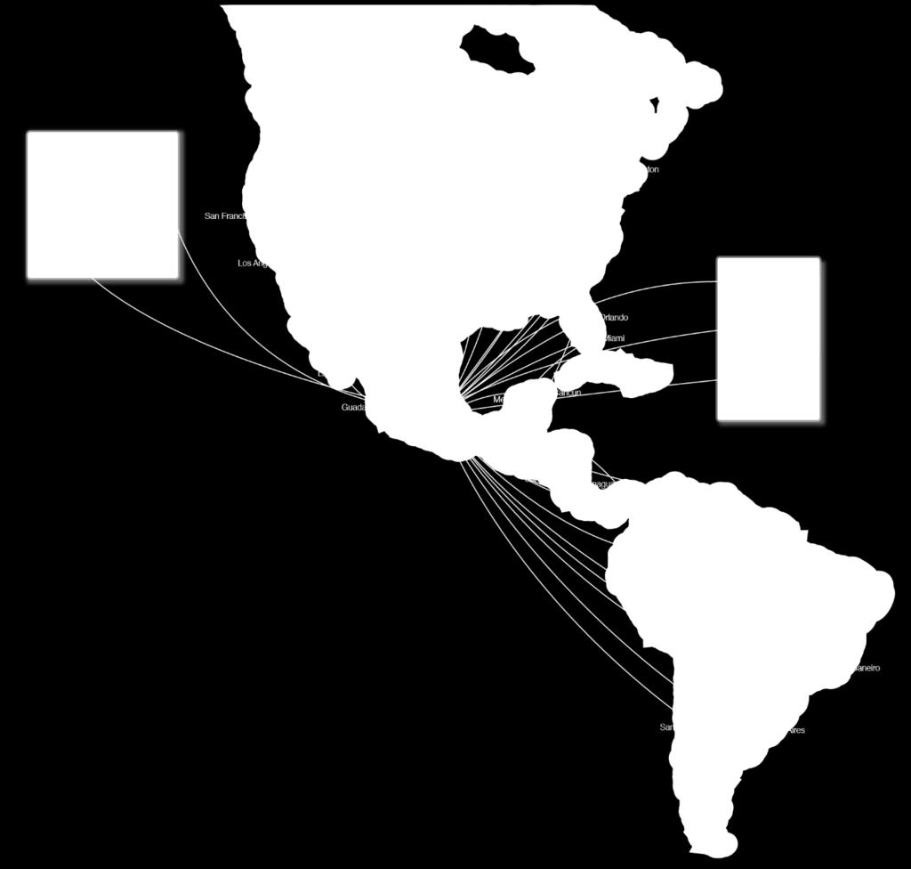 STRATEGIC ALLIANCE: Potential Joint Network in US-MEX Transborder market POTENTIAL JOINT NETWORK FOR MEXICO US TRANSBORDER MARKET AM and DL have filed an application with the US DOT and