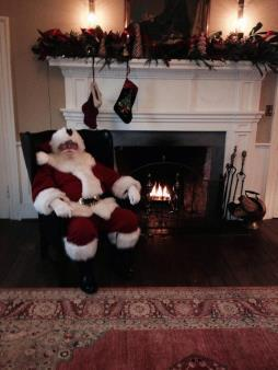 SANTA AT PHARSALIA Children enjoy this special