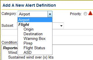 Page - 14 - What Am I Alerted On? Select the Definitions tab to configure alert rules.