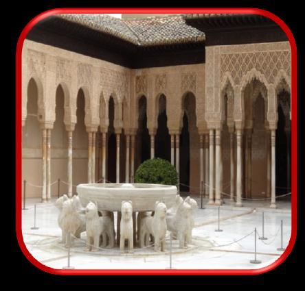 Visit the world famous Alhambra (Red Palace) and Generalife Gardens, fountains,