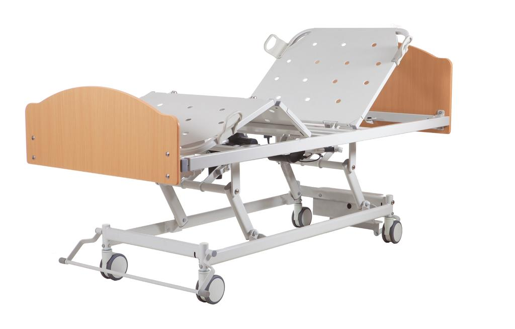 AC3 SINGLE PRODUCT CODE: BEB045900 The Aidacare AC3 bed is a three function bed tailored to the Aged Care environment.