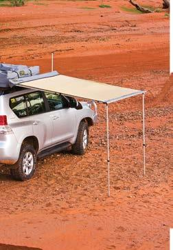 TJM awnings The awning is so easy to set up that you don t have to wait to go camping.