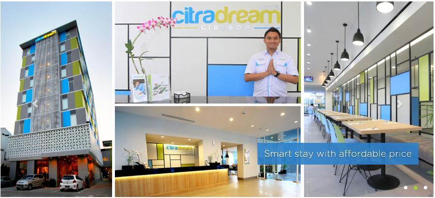 PT Ciputra Property Tbk Officially Launched CitraDream Hotels Jakarta PT Ciputra Property Tbk (CTRP), through its subsidiary, PT Ciputra Hospitality launched CitraDream, a brand for budget hotels