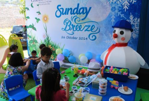 CitraSun Garden Semarang Held Sunday Breeze Open House Semarang CitraSun Garden Semarang organized an open house with the theme of Sunday Breeze in this October.