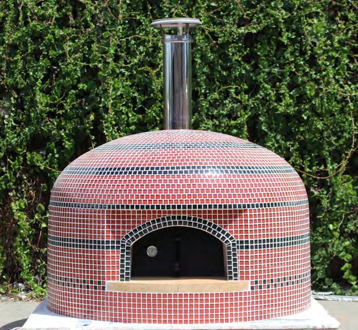 The Forno Bravo Vesuvio Series is a family of Naples-style ovens designed for backyard baking.