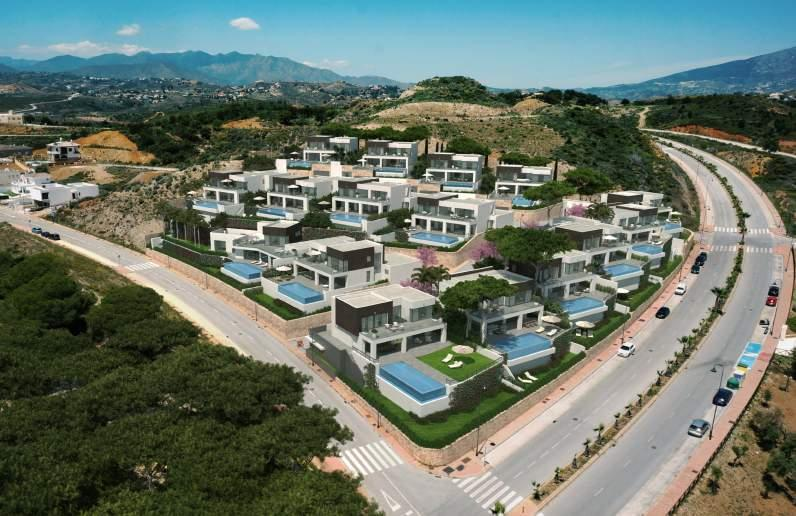 La Cala Views is a new development located in the exclusive and much sought after area of La Cala de Mijas (Mijas Bay).