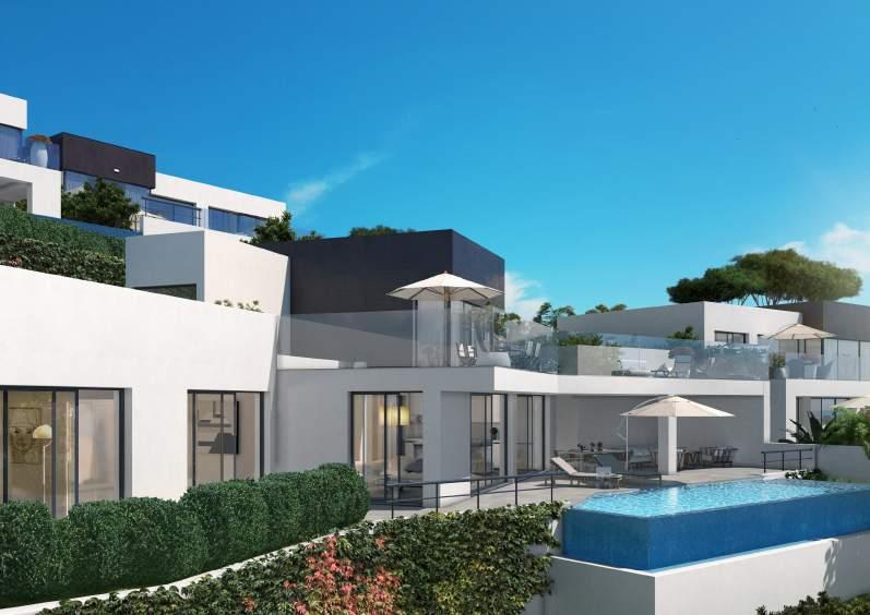 for extended periods. The project consists of 16 design luxury villas in phase I and 5 in phase II.