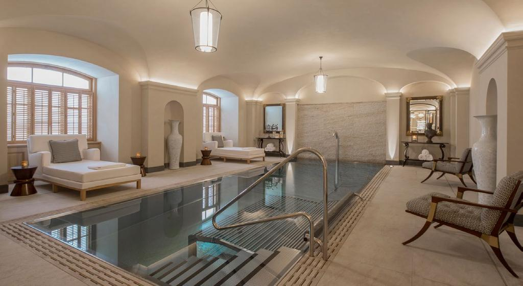 SERENITY IN THE CITY Escape to our AVA Spa to discover Prague s finest skin care and massage.