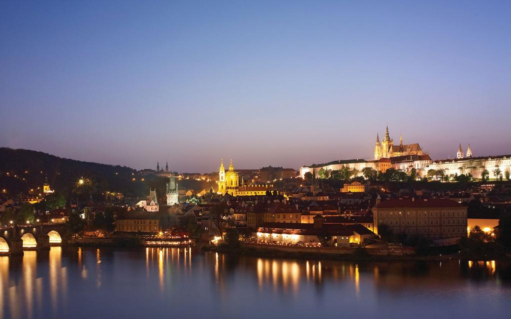 PRAGUE S MOST COVETED VIEW From Four Seasons, your view spans the