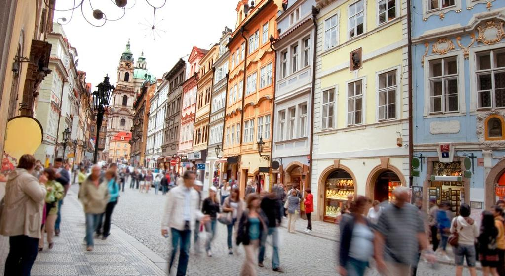 A CITY MADE FOR EXPLORING Like a fairytale come to life, Prague is rich in beauty and
