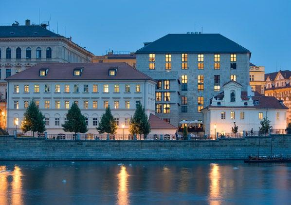 Four historic eras are represented by the Hotel s buildings: Baroque (1568), Neo-Classical (1827), Renaissance