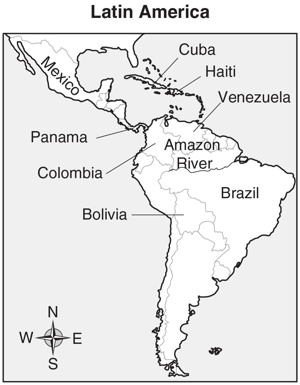 Unit 5: Latin America Today In this unit, you will turn your attention to Latin America. You will study the geography of some Latin American countries.