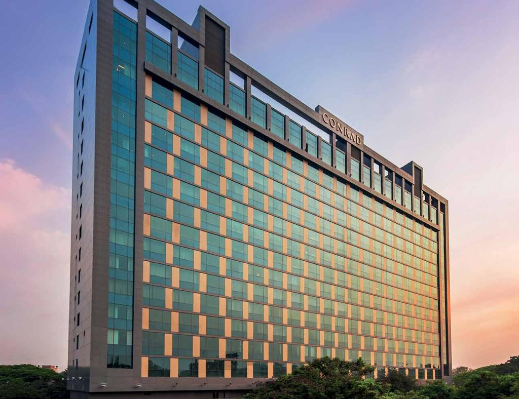 Conrad Pune, India Why Conrad Hotels & Resorts?