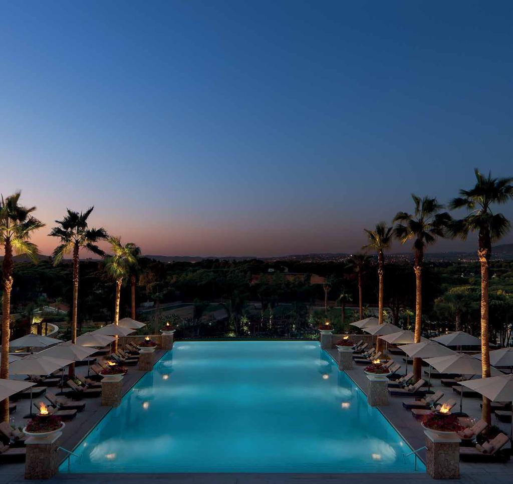 Conrad Algarve, Portugal Conrad Commitment to Excellence CONRAD CONCIERGE A high-tech application that helps Conrad deliver flawless service, allowing the guest to have control over their stay, from
