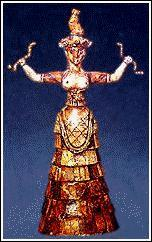 Religion Placed reverence statues in holy places to act as representatives of the gods Most important Minoan deity was the Mother