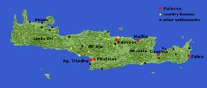 Most important city in Crete Led by King