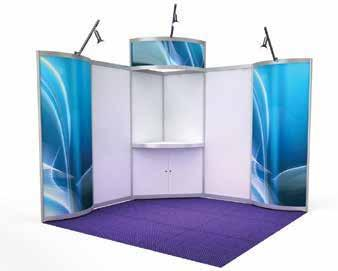 Exhibition Booths Option 1: Shell scheme booth (3m x 3m) $7,950 (inc GST) Your exhibition space will have: 2.