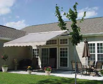 Meets Function Of course it is not all about looks. We know the main reason for buying a retractable awning is that you can't use your deck or patio on those blistering hot summer days.