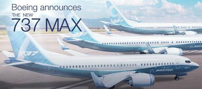 Boeing 737 MAX to Replace Mainline Narrowbody Announced plans to renew current mainline Airbus narrowbody fleet with Boeing 737 MAX aircraft, creating one of the world s