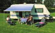 15% SMALLER LIGHTER ALUMINUM END CAP Like other Prostor awnings, the gearing is protected by a
