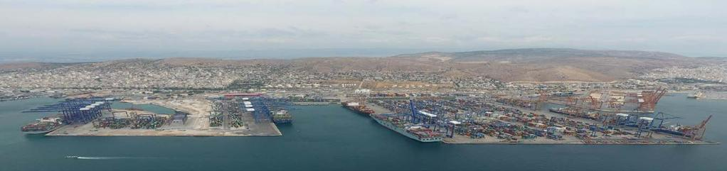 01 Mother-vessels call Piraeus Services: Westbound: 4 voyages with direct calls Eastbound: 5 voyages with direct