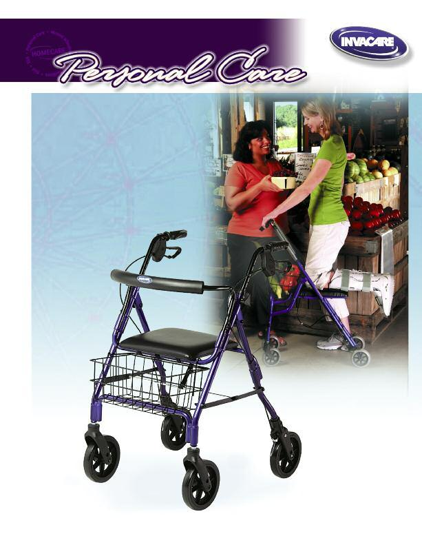 Invacare Personal Care Products