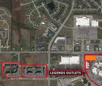 A. New Legends Apartments: 256 Units Opening Soon Over 35,000 work within 5 MILES 256-Unit Legends Apartments coming soon NEW LEGENDS