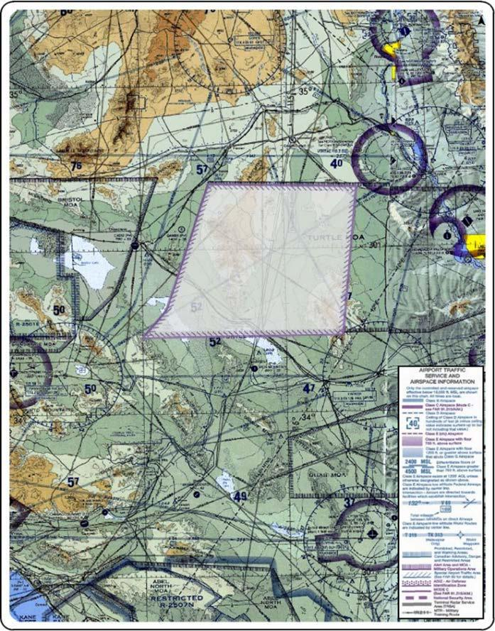 The New Turtle MOA/ATCAA B and C would be activated by NOTAM in support of fixed wing aircraft training events from 1500 feet AGL to FL 270 for up to 24