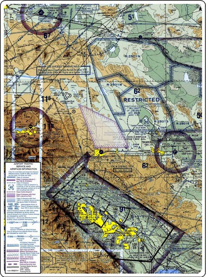 PROPOSED JOHNSON VALLEY MOA/ATCAA WITH PROPOSED PERIODS OF USE The Proposed Johnson Valley MOA/ATCAA would be activated by NOTAM in support of fixed wing, rotary wing and tilt-rotor aircraft training