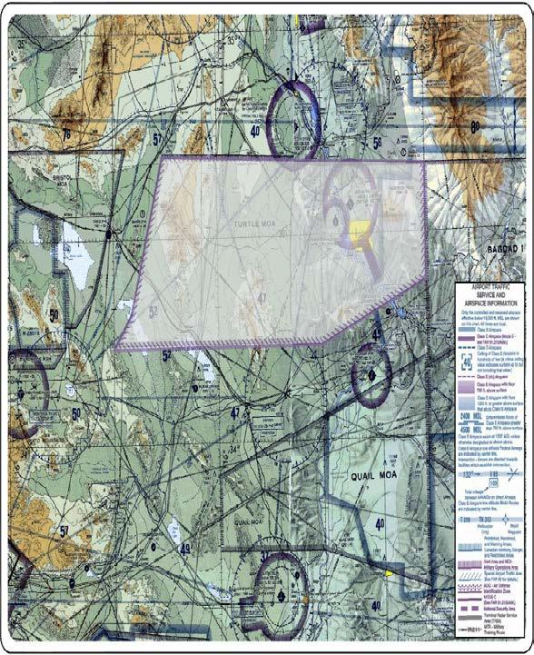 PROPOSED NEW TURTLE MOA/ATCAA WITH PROPOSED PERIODS OF USE Activation of the proposed New Turtle MOA/ATCAA at various altitudes from 1500 feet AGL up to and including FL 400 would be either by itself