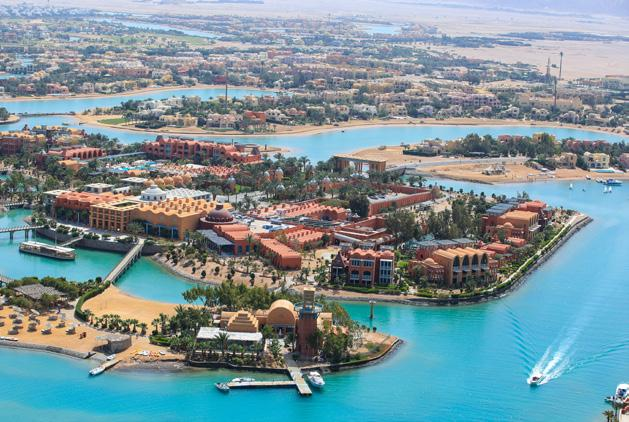 El Gouna A TIMELESS DESTINATION More than just acquiring a new home, at El Gouna becoming a homeowner means enjoying life from a whole different level.