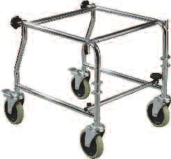Assembly, Chrome 1/cs PSTDSF-TF Swing-away Tool Free Footrests, (Plastic) (For use on 11120SV-1), 1 pr/cs