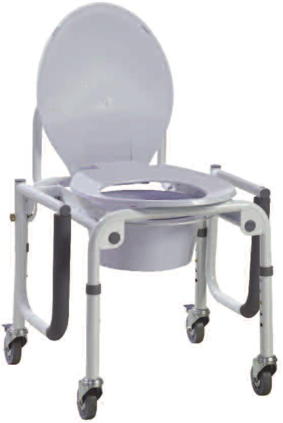 11101W-2, 2/bx Easy-to-release arm mechanism allows for safe lateral patient transfers to and from commode. Arm provides additional support while transferring.