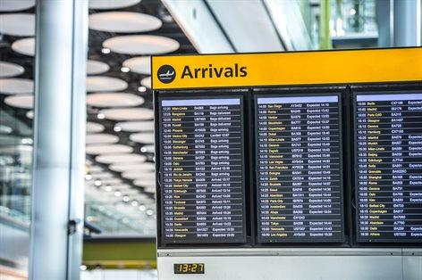 If you are departing, it will tell you what time to make your way to the departure gate. If you are arriving, it will tell you where to collect your baggage.
