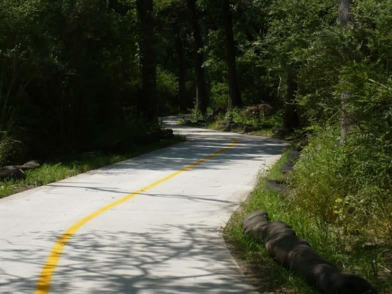 for elimination of some parts of Phase 2 trail, and for